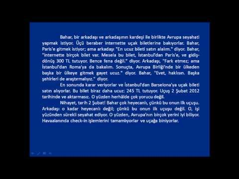 Online Turkish Lessons - Lesson # 13 - YouTube