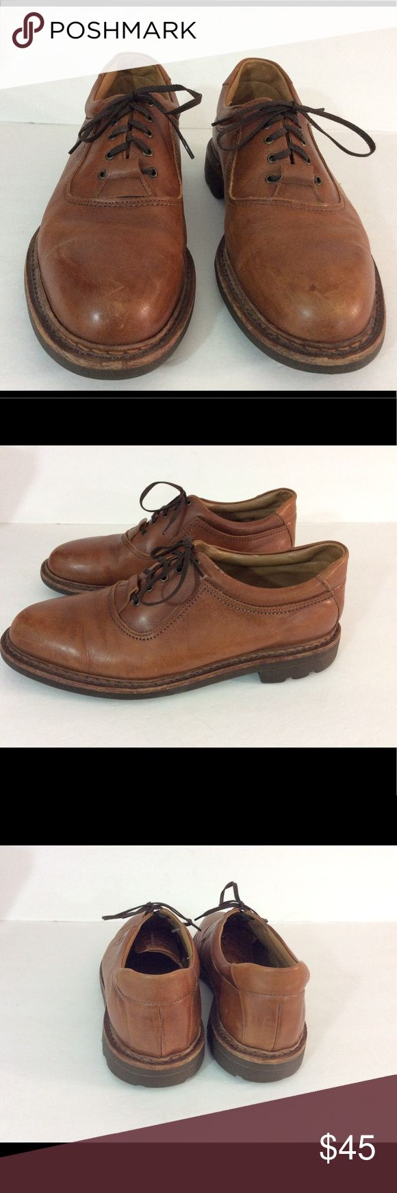 Johnson and Murphy Oxford Tie Men's Shoes Johnson and Murphy pre-owned men's oxfords are in very good condition.  Size 9M in a brown. Johnston & Murphy Shoes Oxfords & Derbys