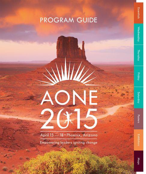 healthcare conference onsite program guide cover   www.hughesdesign.com