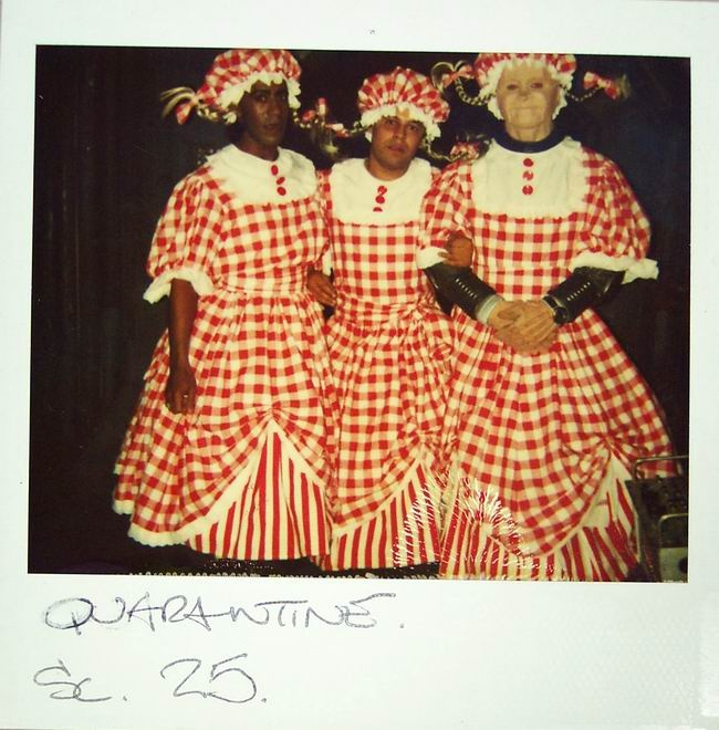 3 Gingham Dresses Red Dwarf (going like this to comic con one year :D)