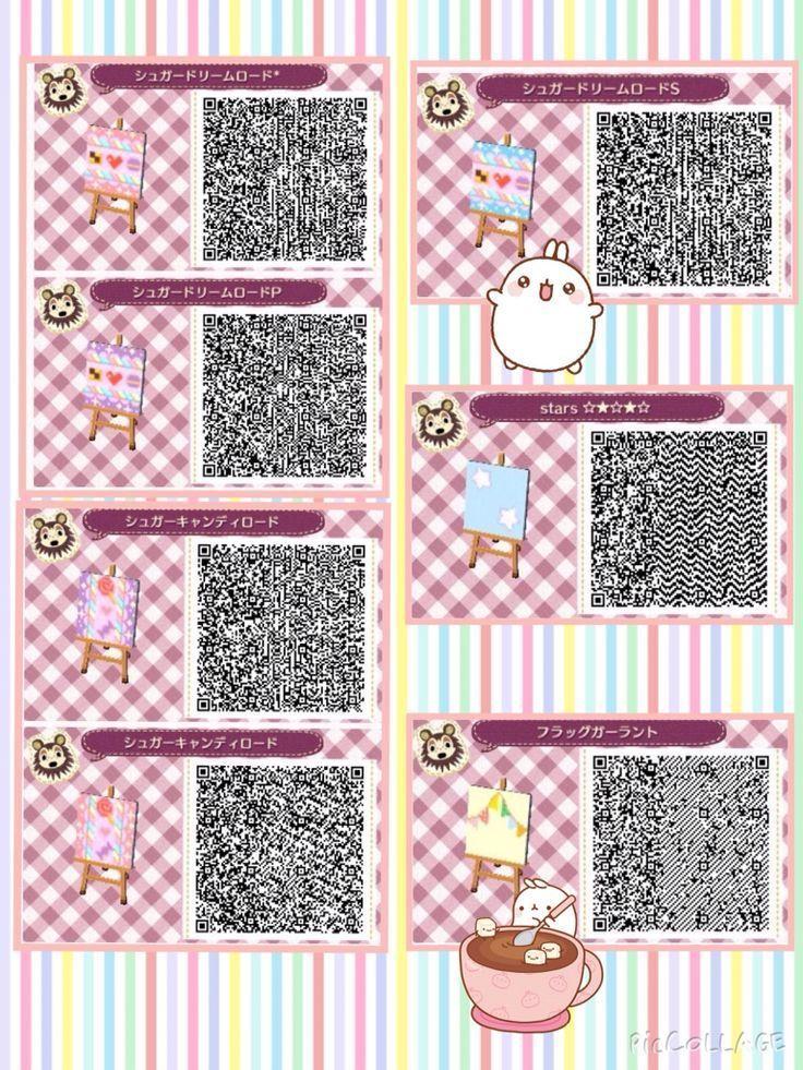 cool animal crossing qr codes wallpaper