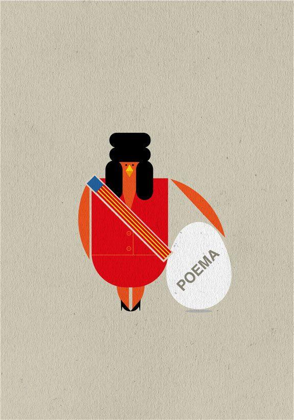 #LIBROS #ILUSTRACION #ILLUSTRATION #VERKAMI #CROWDFUNDING - Ilustración by @Milimbo Libros de ESTO NO ES VANGUARDIA libroCD de Jesús Ge. Sus recitales poéticos combinan la fuerza escénica de los rapsodas y trovadores antiguos con la contundencia de la poesía comprometida de finales del siglo XX. Por otro lado, sus juegos y acrobacias verbales invitan a la risa y a la comedia. En este libroCD se recoge parte de su trabajo.  Rita Barbera fallera valencia +INFO: www.verkami.com/projects/4762
