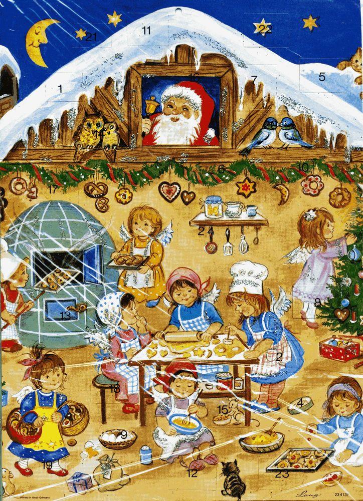 sch ner adventskalender pl tzchenbacken christmas. Black Bedroom Furniture Sets. Home Design Ideas