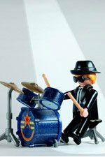 Drums: Playmobil© Smartphone iPhone Wallpaper