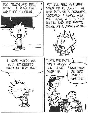 And hobbes strips calvin pdf comic