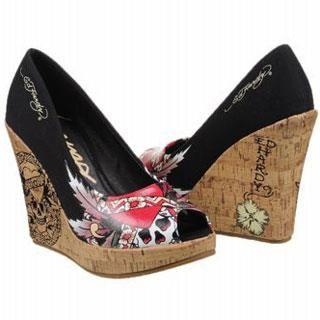 Женская обувь ed hardy