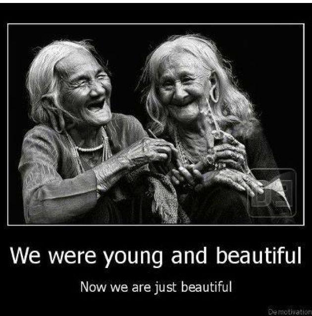 Met veel lol en plezier ouder worden.....