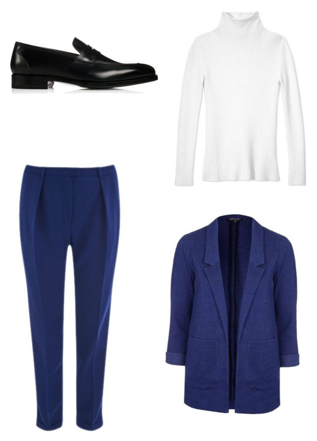 """""""Geen titel #4"""" by shanisiavniel on Polyvore featuring mode, Les Copains, Topshop en Wessex"""
