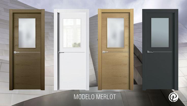 Modelo Merlot | Serie Costa Marfil | Puertas con cristal | Puertas de interior | Puertas Castalla