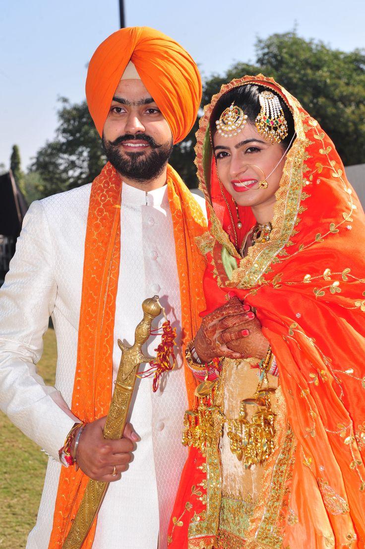 wedding, jagdish jeweller, jain jewller, chandigarh, punjabi, sikh bride