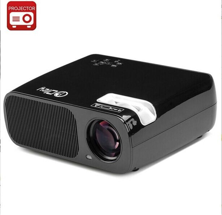 Sale! Projector 3000lumen Full HD1920 x 1080 LED LCD 3D Home theater LED Projector 50000hrs LED For PC smart phone laptop tablet