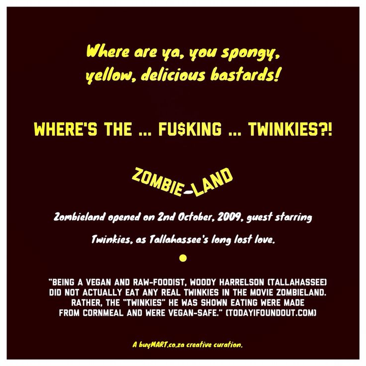 On this day, in 2009, Zombieland opened, and Bill Murray put on his Ghostbusters uniform again.  #Zombieland #WoodyHarrelson #foodie #Movies #Art #Food #Chef #DJ #Creativity #HipHop #SouthAfrican #FoodPorn #Design #Creative #Ad #GraphicDesign #Advertising #Brand #Marketing #London #NewYork #Melbourne #ghostbusters #Instachef #SouthAfrica #AgencyLife #Music #Blogger #Twinkies