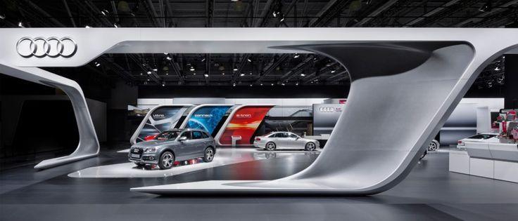 Audi - MIAS Moskau 2012   Schmidhuber