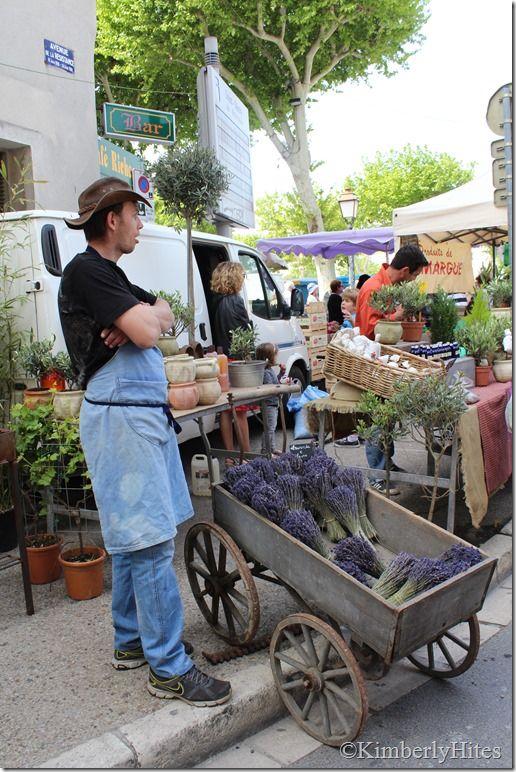 Mediterranean Living| Serafini Amelia| Lavender at the market, St. Remy de Provence, France