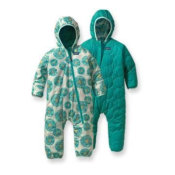 The Best Children's Snowsuits, Jackets, and Snow Pants In the quest for the best winter snowsuits, jackets, and snowpants for our kids, the design is thoughtful in that there is no zipper to make baby uncomfortable when in a baby carrier/backpack.