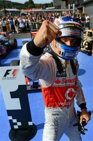 Jenson Button - GP Bélgica 2012
