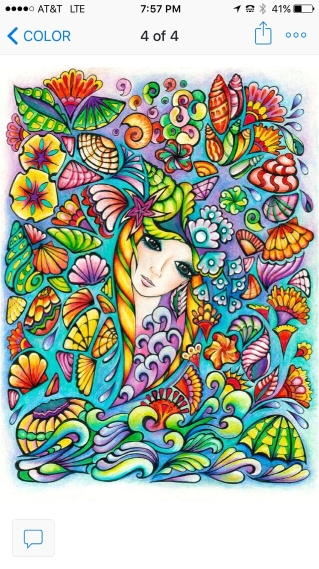 Fanciful Faces Coloring Book For Adults Dover By Miryam Adatto