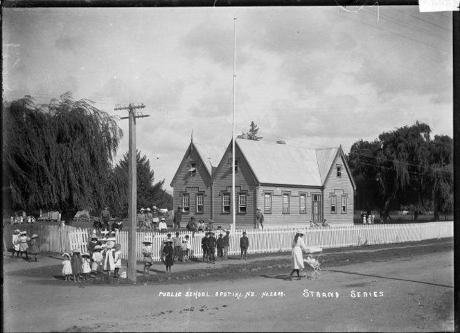 Opotiki - my old #school, and the model for Daisy's District High School #newzealand