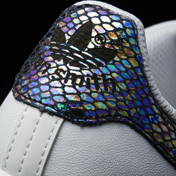 adidas - Stan Smith Metallic Snake Shoes