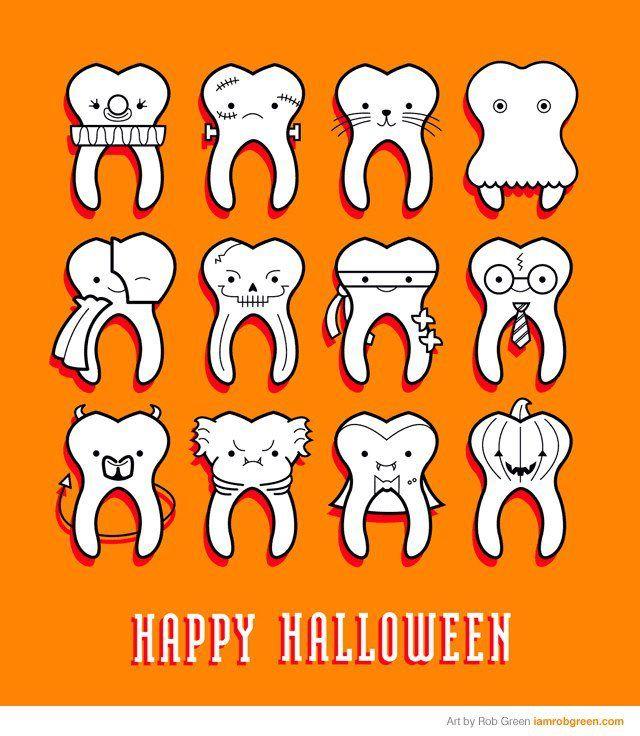 Happy Halloween from TenderCare Dental. #Portland #Dentist http://www.tendercaredental.net/locations/tigard-tendercare-dental/