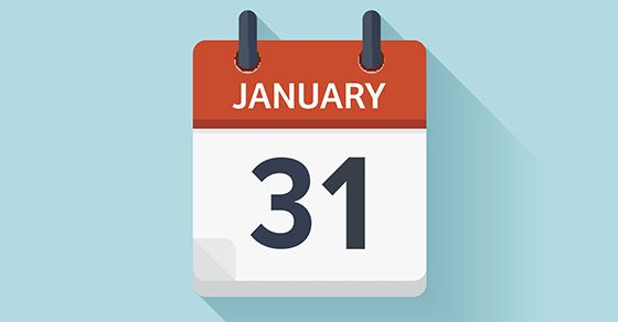 "The IRS issues a deadline notice to employers. The IRS is reminding employers and other businesses that 2017 W-2 forms (""Wage and Tax Statement"") and 2017 1099-MISC forms (""Miscellaneous Income"") that report nonemployee compensation must be filed by January 31, 2018. In general, information returns are required to be filed for compensation paid by persons engaged in a trade or business to individuals, whether as employees or nonemployees, in the course of the person's trade or business."