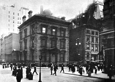 459 Fifth Ave | New York, NY. Originally the home of W. H. Vanderbilt, he gifted it to his son Frederick Vanderbilt upon completion of the residences at 640 & 642 Fifth Ave.
