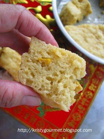 My Little Space: Steamed Corn Pan Huat Kuih @ Apam Jagung Kukus