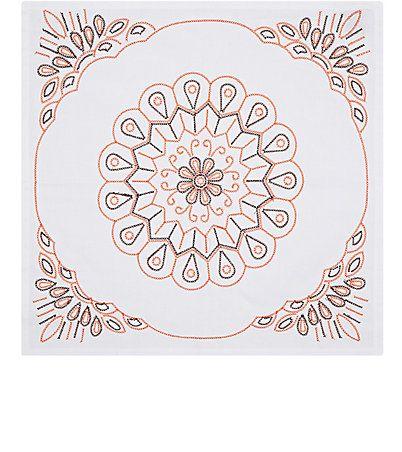 Kim Seybert Sundial Cotton Napkin - Napkins - 504957423