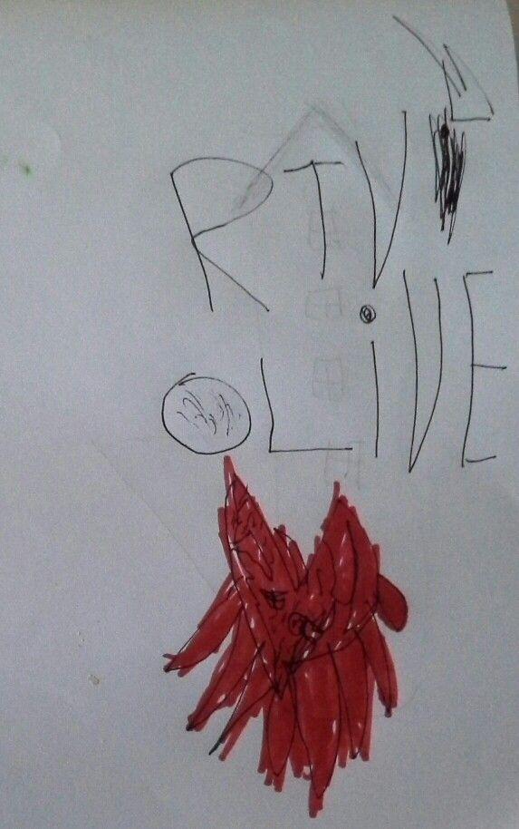 Oliver har tegnet