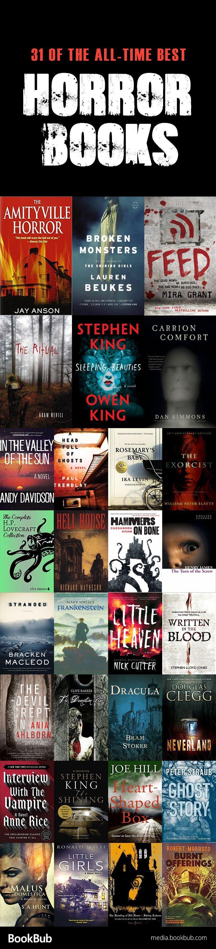 Best 25+ Horror books ideas on Pinterest | Books, Good ...