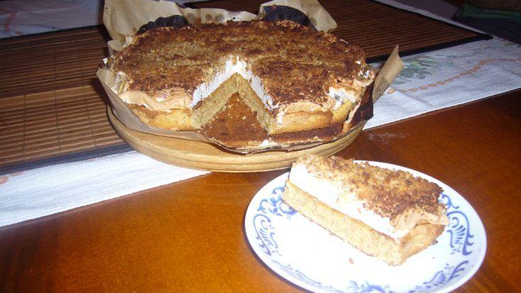 Fotorecept: Jednoduchý orechový koláč