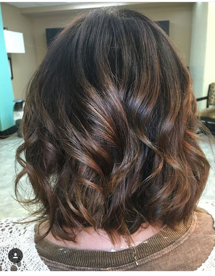 Light Ash Brown Hair Balayage Short