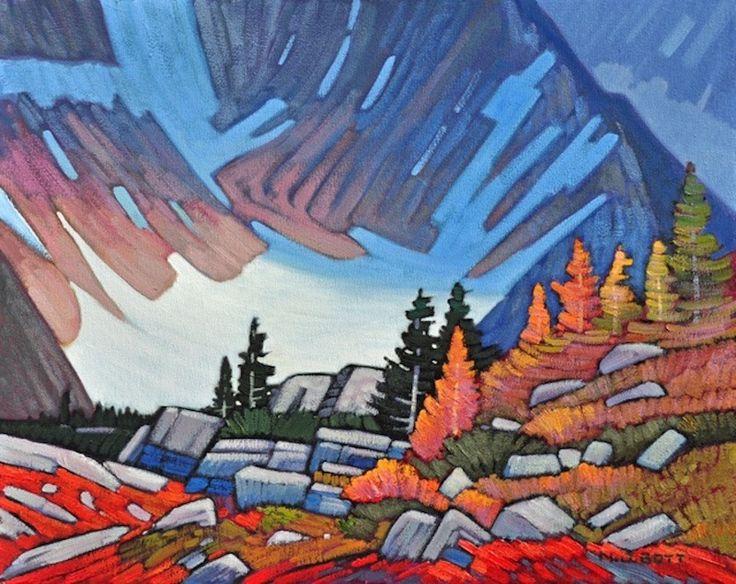 "'Shuksan Glacier II' 16"" x 20"" Oil on Canvas by Nicholas Bott"