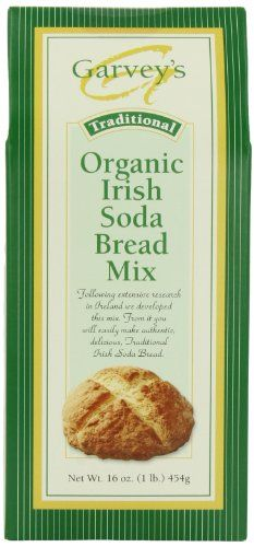 Authentic Irish Soda Bread Mix, perfect with Corned Beef for St. Patricks Day