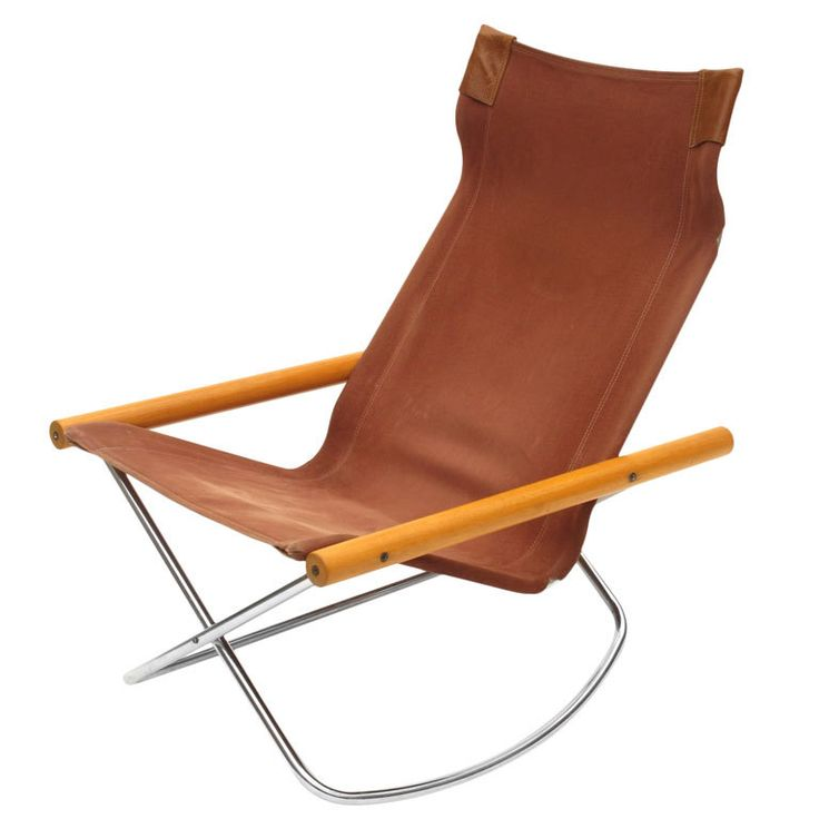 "Takeshi NII ""NY Chair"" Folding Rocker"