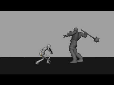 Blizzard Animation tests - YouTube