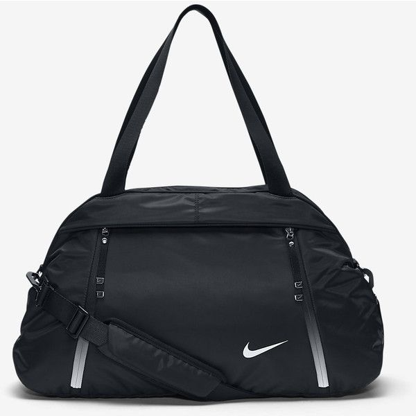 Nike Auralux Solid Club Training Bag. Nike.com (€71) ❤ liked on Polyvore featuring bags, handbags, nike purse, nike bags, nike, training bag and nike handbags