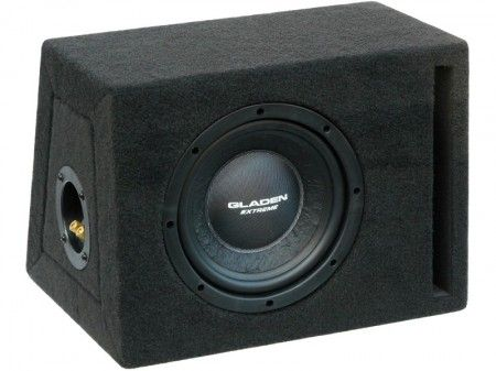 Gladen Audio RS 08 Extreme BR autóhifi subwoofer reflex ládában