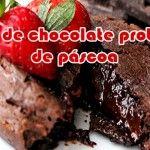 bolo de chocolate proteico pascoa whey