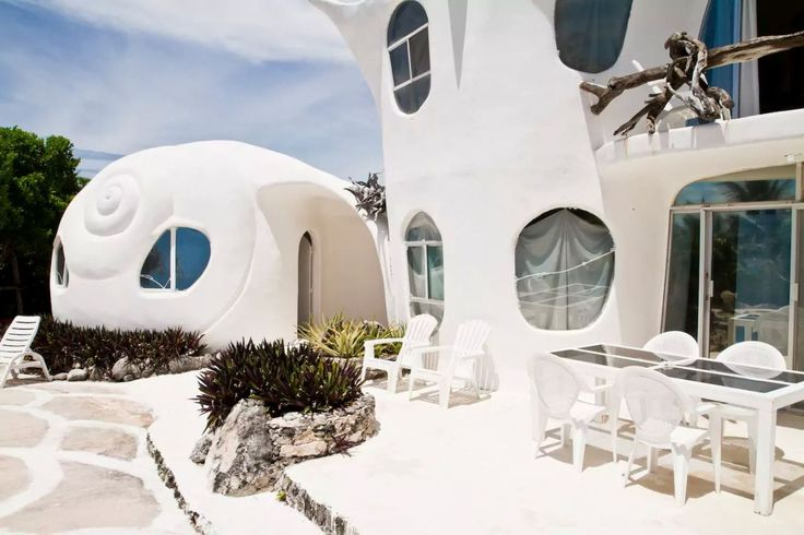 The Seashell House Cancun Mexico