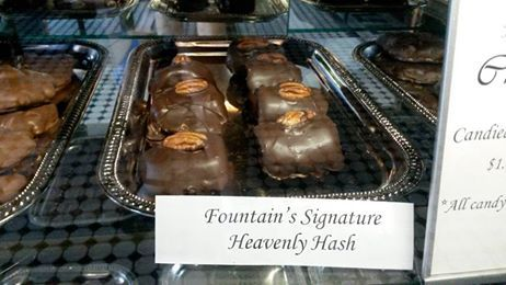 Heavenly Hash at the Fountain on Locust in St. Louis, MO