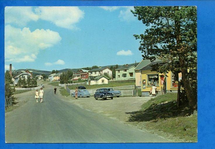 Folldal sentrum, Hedmark fylke, Østerdalen. ca. 1960.