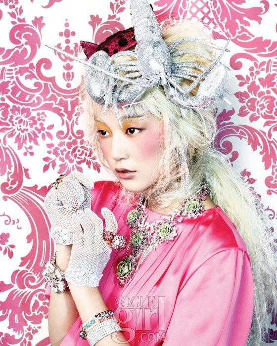 Choi Junyoung for Voguegirl Korea Jan 2012 by Hong Janghyun