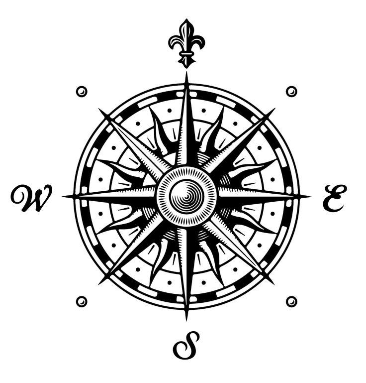 Map Wind Rose symbol