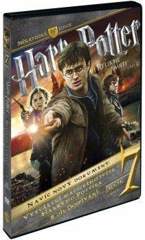 DVD: Harry Potter a Relikvie smrti - 2. část S.E. (3 DVD)