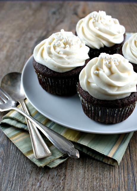 Irish Car Bomb Cupcakes - oh my oh my. From @Lisa Phillips-Barton | Authentic Suburban Gourmet