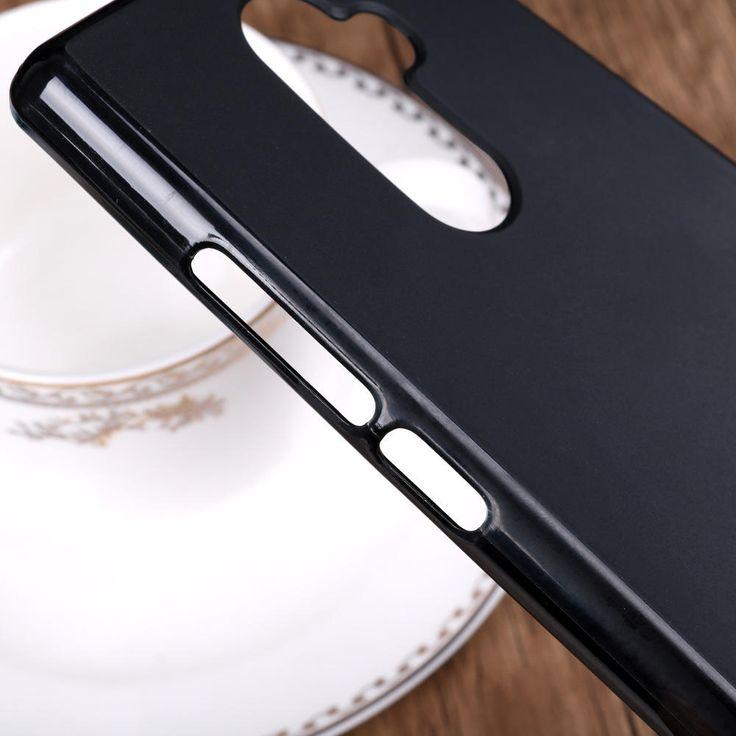 Bakeey Ultra Thin Pudding TPU Soft Scrub Back Case For DOOGEE MIX 2 Sale - Banggood.com