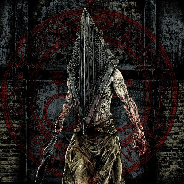 "Pyramid Head from ""Silent Hill.""  I like the original helmet from ""Silent Hill 2,"" but the movie adaptation is still nifty."