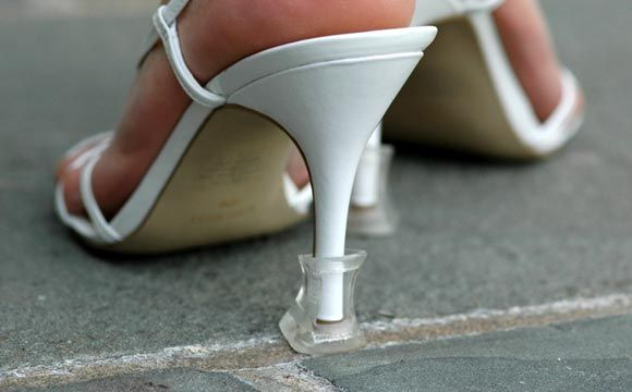 Astuce chaussure de mariage sur pelouse - Happy Chantilly | Happy Chantilly