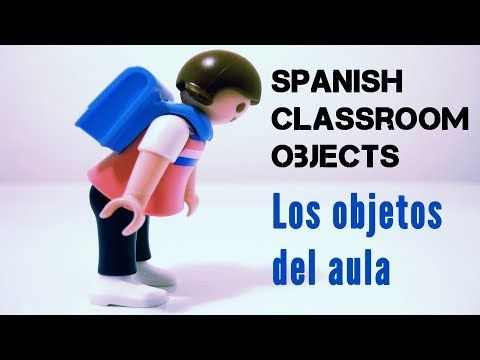 Classroom objects in Spanish and demonstrative adjectives (list + quiz) | Spanish Learning Lab
